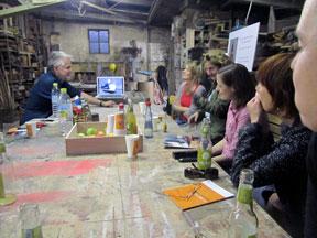 Ateliergespräch mit Florian Borkenhagen