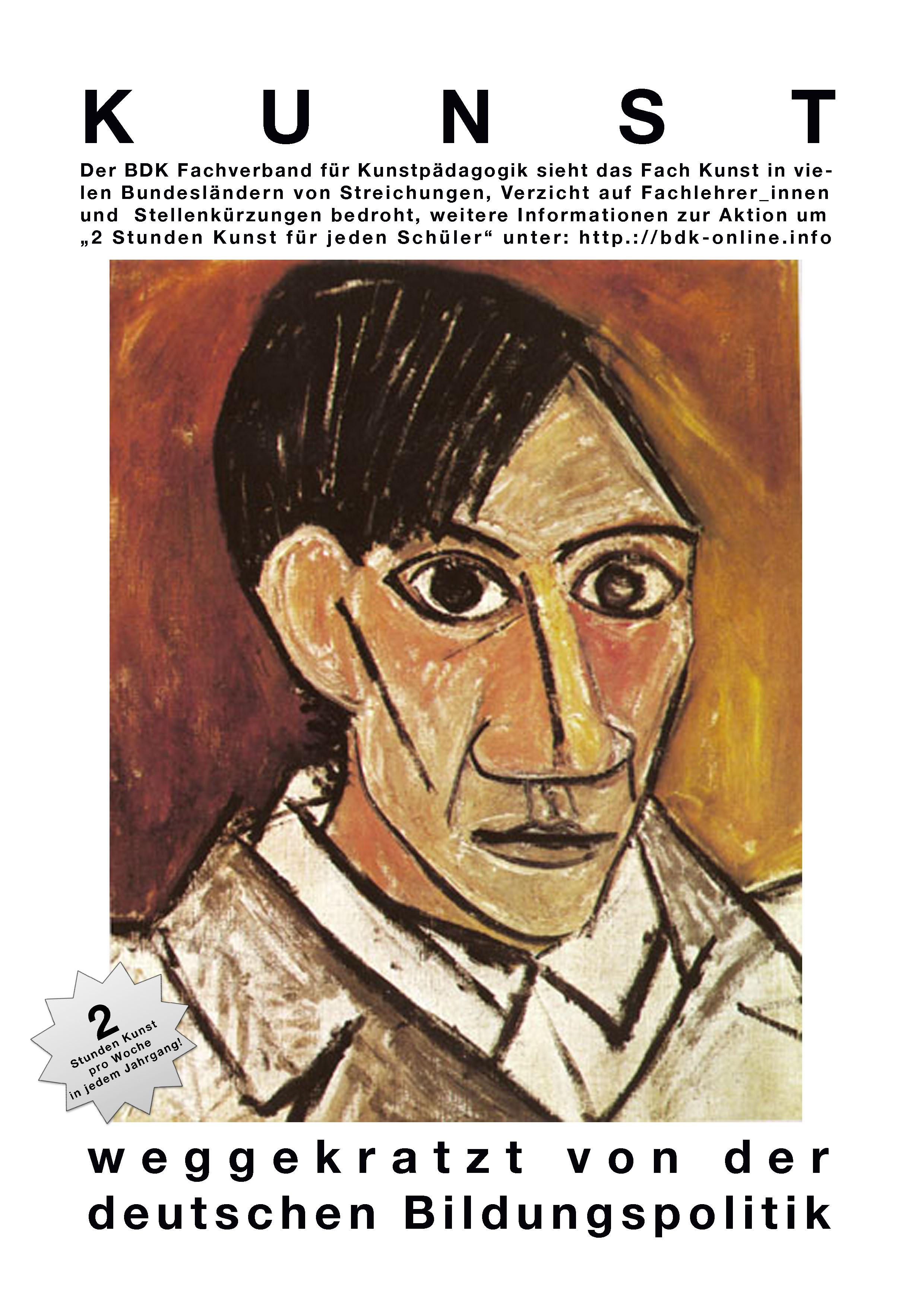 weggekratzt Picasso