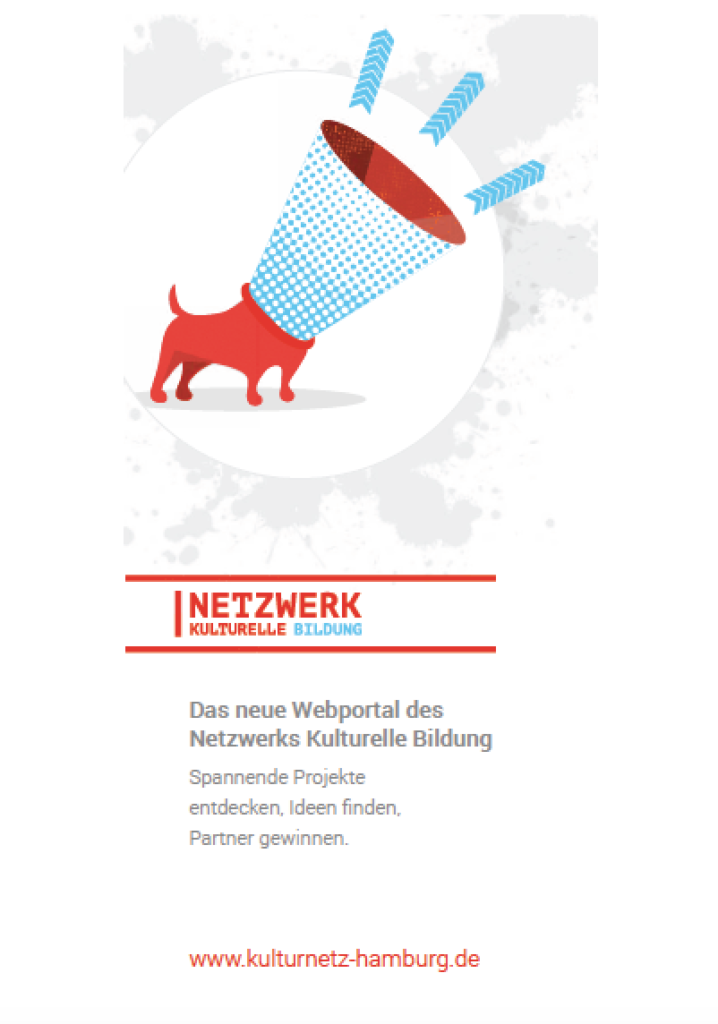 Flyer Netzwerk Kulturelle Bildung
