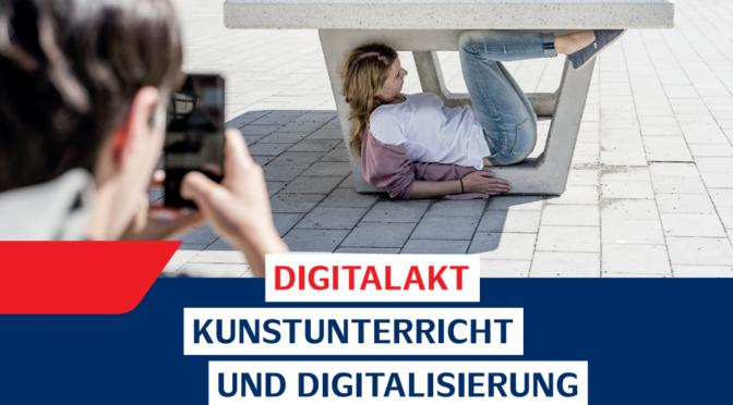 "Fachtag Bildende Kunst 2020: ""DigitalAkt"""